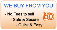 We Buy From You - No Fees to Sell - Safe & Secure - Quick & Easy