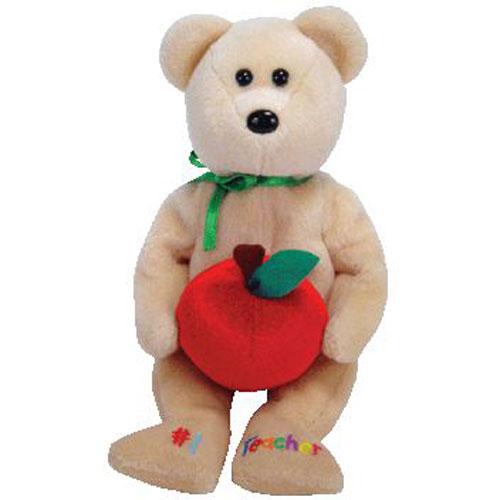 TY Beanie Baby -  1 TEACHER the Bear (8 inch - Mint)  Sell2BBNovelties.com  Sell  TY Beanie Babies ad666b9c08c