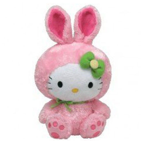TY Beanie Baby - HELLO KITTY (PINK BUNNY - 7.5 inch) (Mint)   Sell2BBNovelties.com  Sell TY Beanie Babies d265db5f109