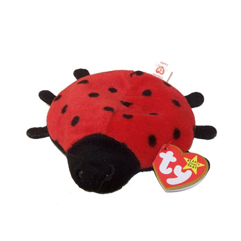 Ty Beanie Baby Lucky The Ladybug 21 Spot Version 4th