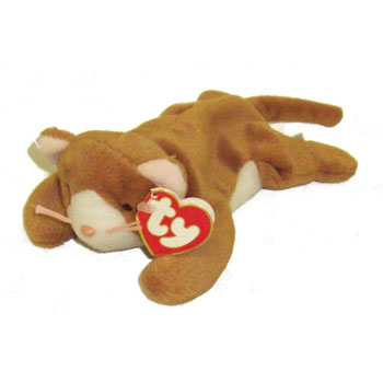 TY Beanie Baby - NIP the Cat (White Face Version) (2nd or 3rd Gen Hang Tag  - Mint)  Sell2BBNovelties.com  Sell TY Beanie Babies d51b19c519dc