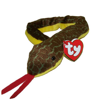 5b3c9c7ddce TY Beanie Baby - SLITHER the Snake (No Hang Tag)  Sell2BBNovelties.com   Sell TY Beanie Babies