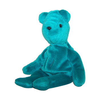 TY Beanie Baby - TEDDY TEAL - OLD FACE (No Hang Tag)  Sell2BBNovelties.com   Sell TY Beanie Babies 1cb2f93a96b2