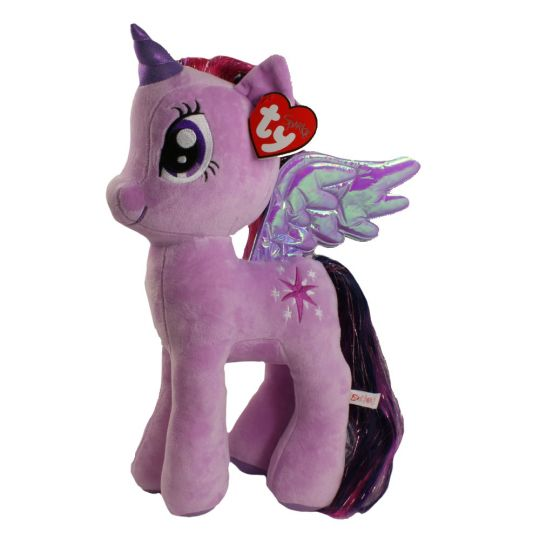 TY Beanie Buddy - My Little Pony - TWILIGHT SPARKLE (Large Size - 15 inch)  (Mint)  Sell2BBNovelties.com  Sell TY Beanie Babies 85ed8a02644b