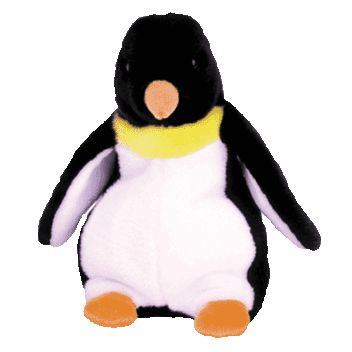 Ty Beanie Buddy Waddle The Penguin 9 Inch Mint