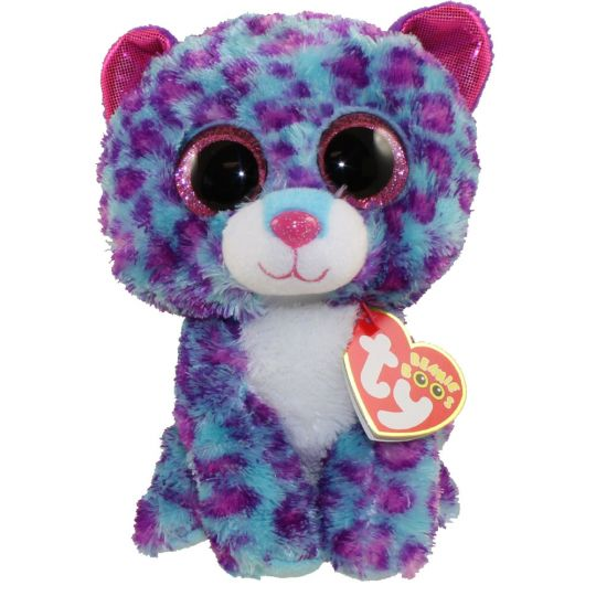 c13ce3a705d TY Beanie Boos - DREAMER the Blue Purple Leopard (Regular Size - 6 inch)   Sell2BBNovelties.com  Sell TY Beanie Babies