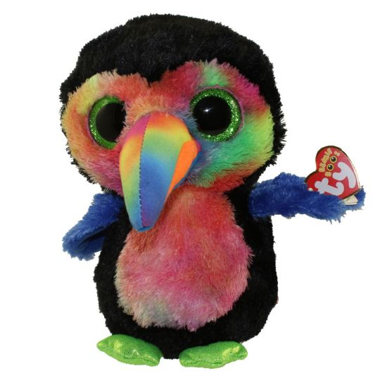TY Beanie Boos - BEAKS the Toucan (Medium Size - 9 inch) (Mint)   Sell2BBNovelties.com  Sell TY Beanie Babies 941a60c1454
