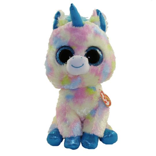 4bda154f1ee TY Beanie Boos - BLITZ the Unicorn (Medium Size - 9 inch) (Mint)   Sell2BBNovelties.com  Sell TY Beanie Babies