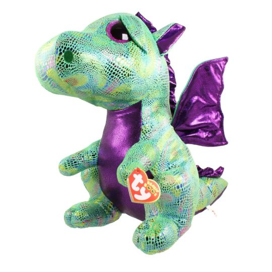 a3b73927811 TY Beanie Boos - CINDER the Dragon (LARGE Size - 17 inch) (Mint)   Sell2BBNovelties.com  Sell TY Beanie Babies