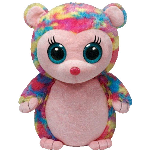 0d95d664000 TY Beanie Boos - HOLLY the Multi Colored Hedgehog (LARGE Size - 17 inch)  (Mint)  Sell2BBNovelties.com  Sell TY Beanie Babies
