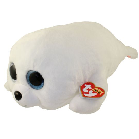 """NEW ICY The White Seal 6/"""" Plush Beanie Boos Toy Doll TY"""