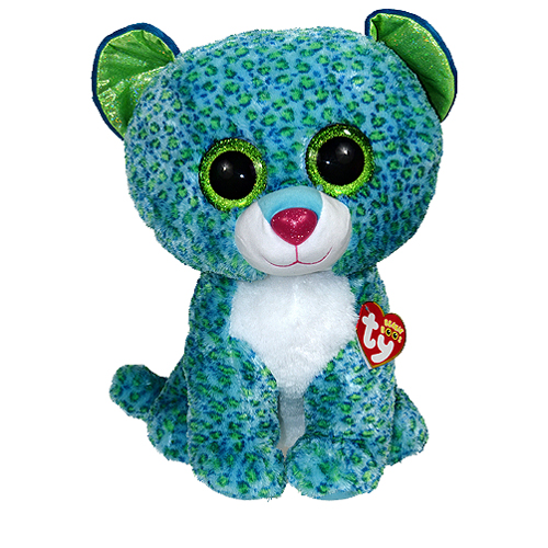 TY Beanie Boos - LEONA the Leopard (LARGE Size - 17 inch)   Sell2BBNovelties.com  Sell TY Beanie Babies 180405b0cd1