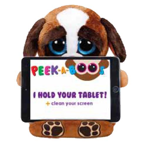 Ty Beanie Boos Peek A Boos Pups The Dog 15 Inch Tablet Holder
