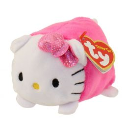 b1c7d977f5f TY Beanie Boos - Teeny Tys Stackable Plush - HELLO KITTY (Pink) (4