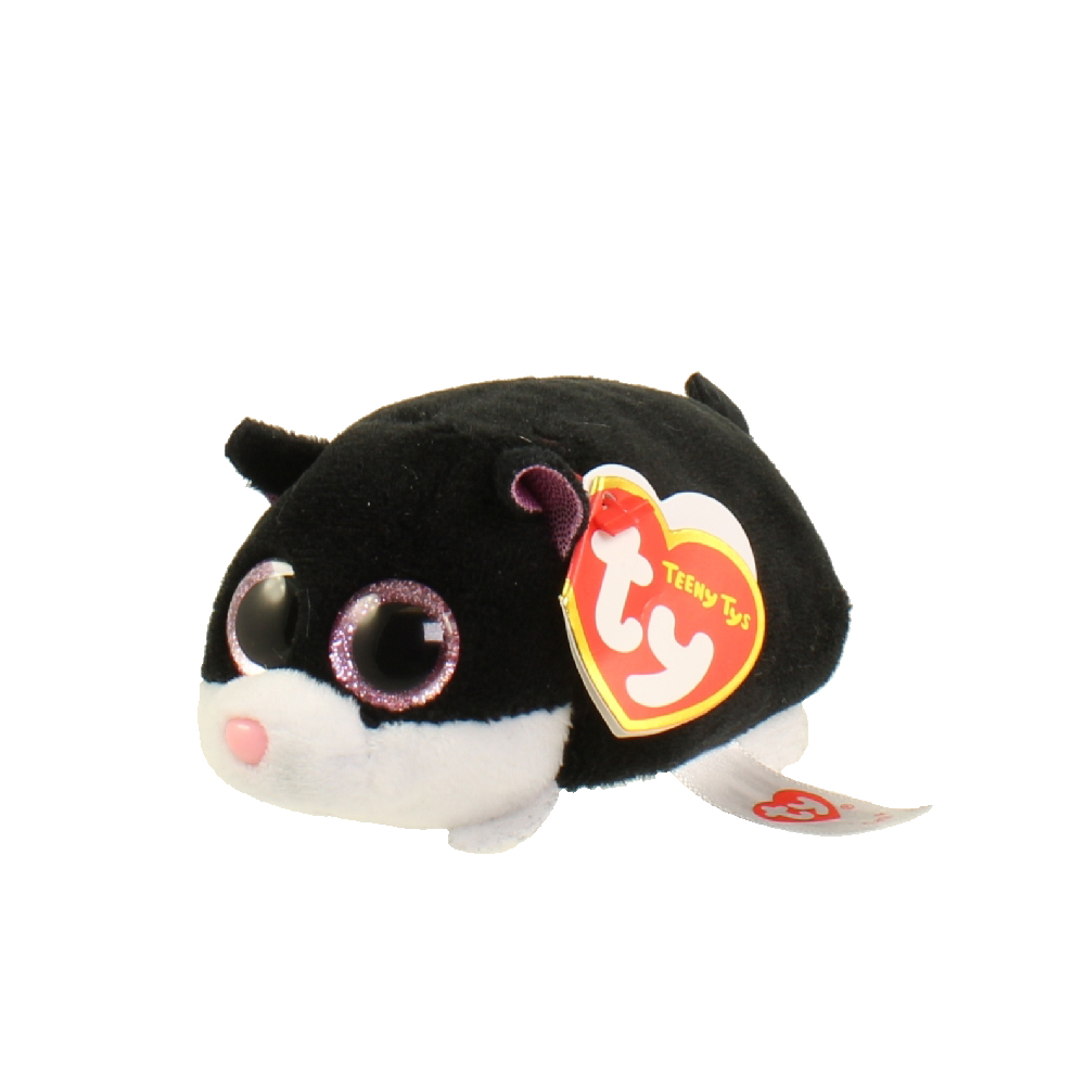 209476fd883 TY Beanie Boos - Teeny Tys Stackable Plush - CARA the Cat (4 inch) (Mint)   Sell2BBNovelties.com  Sell TY Beanie Babies