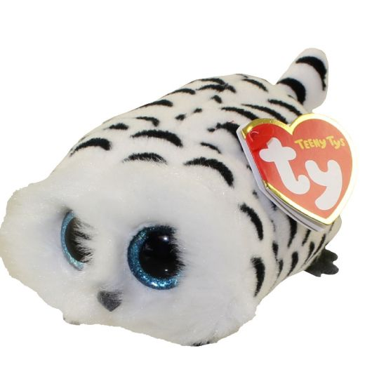 TY Beanie Boos Teeny Tys 4inch NELLIE the Owl Stackable Plush Stuffed Animal Toy