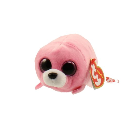 e15247b356f TY Beanie Boos - Teeny Tys Stackable Plush - SEAWEED the Seal (4 inch)  (Mint)  Sell2BBNovelties.com  Sell TY Beanie Babies