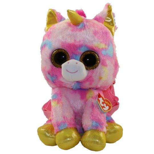 TY Gear Backpack - FANTASIA the Rainbow Unicorn (13 inch) (Mint)   Sell2BBNovelties.com  Sell TY Beanie Babies 6afa1bd4952