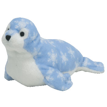 94ea85ec062 TY Bow Wow Beanie Dog Toy - BLUE SEAL (7 inch - New on Card)   Sell2BBNovelties.com  Sell TY Beanie Babies