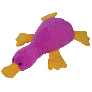 9423f7a3342 TY Bow Wow Beanie Dog Toy - PATTI the Platypus (Mint)   Sell2BBNovelties.com  Sell TY Beanie Babies