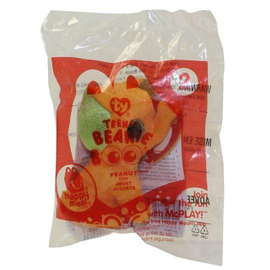 TY McDonald s Teenie Beanie Boo - PEANUT (Orange) (2014) (New in Bag)   Sell2BBNovelties.com  Sell TY Beanie Babies d1b9c1c0adf