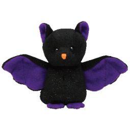0d3d046d6eb TY Halloweenie Beanie Baby - SCAREM the Bat (4 inch) (Mint)
