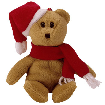 TY Jingle Beanie Baby - 1997 HOLIDAY TEDDY (5.5 inch) (Mint)   Sell2BBNovelties.com  Sell TY Beanie Babies 488fd519084