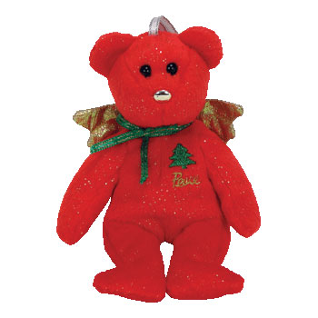 TY Jingle Beanie Baby - GIFT the Bear (Peace - Red Version) (5 inch)  (Mint)  Sell2BBNovelties.com  Sell TY Beanie Babies b0ac26269d8