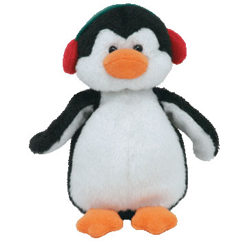 MINT with MINT TAGS TY SNOWBANK the PENGUIN JINGLE BEANIE BABY