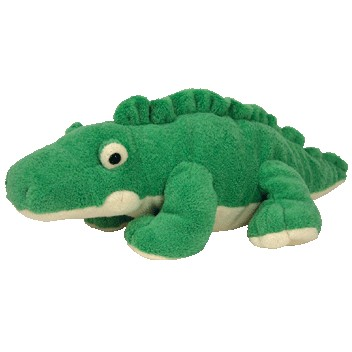 TY Pluffies - CHOMPS the Alligator (11.5 inch) (Mint)   Sell2BBNovelties.com  Sell TY Beanie Babies 99b0dcb690d