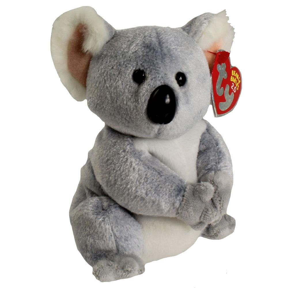 Ty Beanie Baby 2 0 Aussie The Koala 6 Inch Mint
