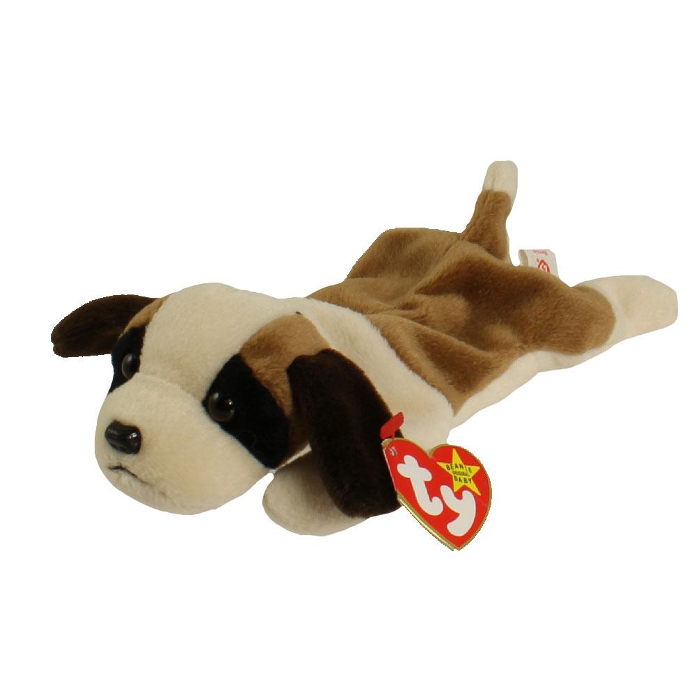Ty Beanie Baby Bernie The St Bernard Dog 8 5 Inch