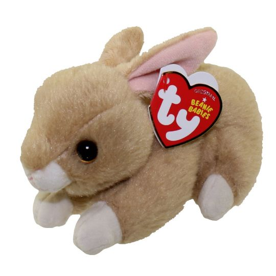TY Beanie Baby - BUNNIE the Brown Bunny (6 inch) (Mint)   Sell2BBNovelties.com  Sell TY Beanie Babies d2f991828c6