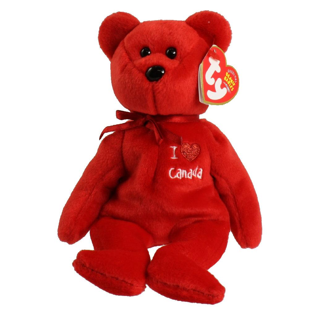 c4ecfeea10a TY Beanie Baby - CANADA the Bear (8.5 inch) (Mint)  Sell2BBNovelties.com  Sell  TY Beanie Babies