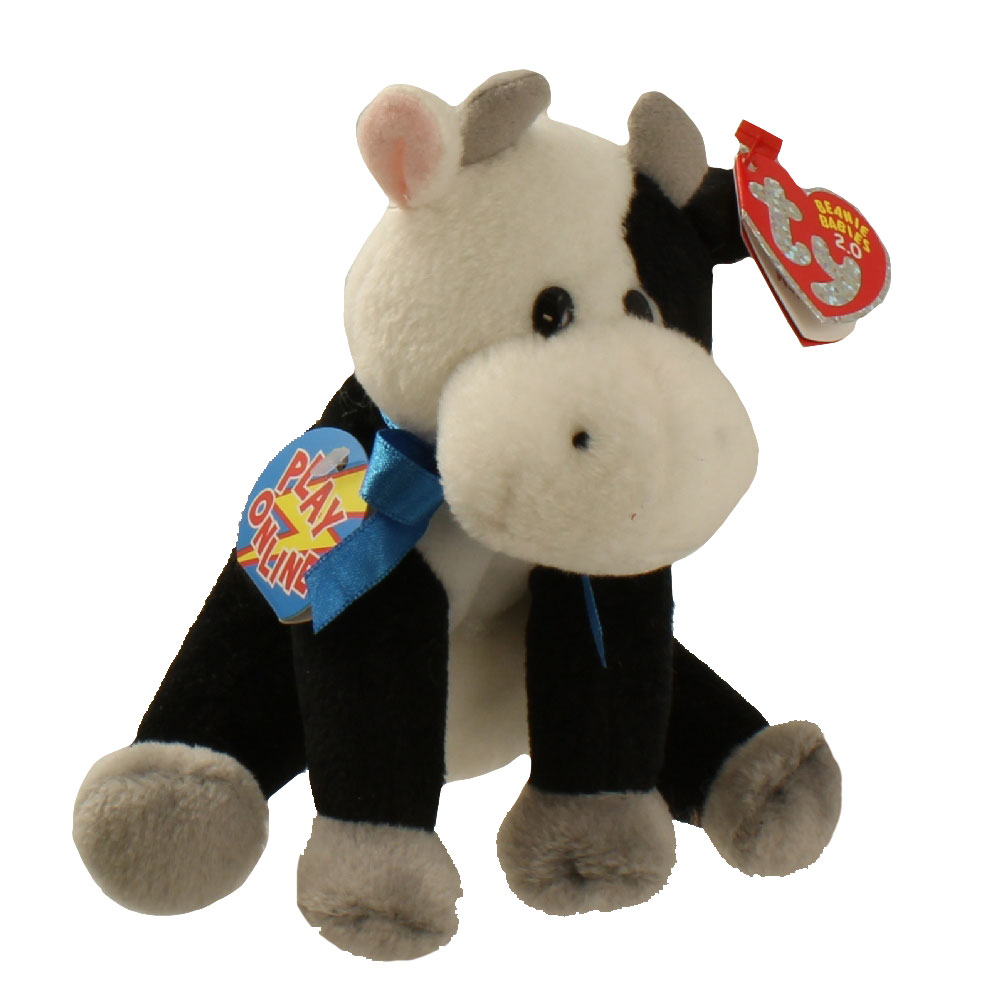 Ty beanie baby charlie the cow inch mint sell beanie babies action figures  barbies cards toys 343e4c1c854a