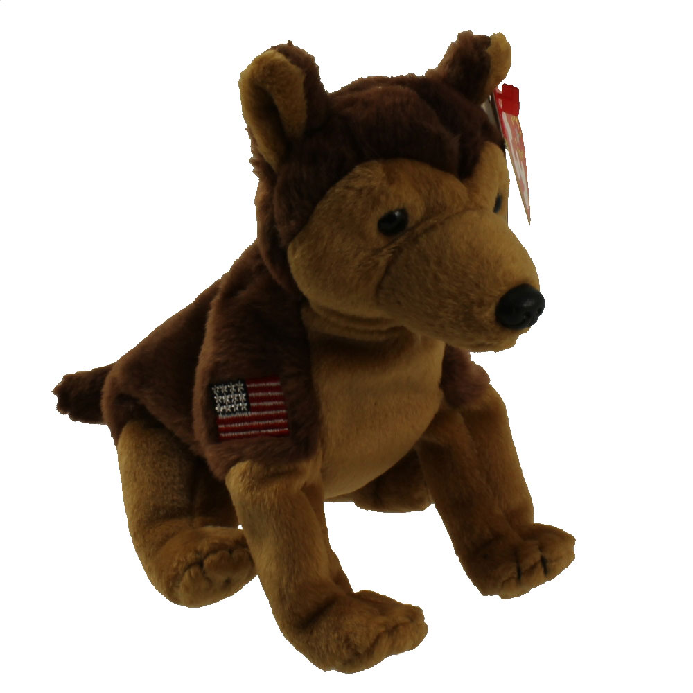 Ty Beanie Baby Courage The Nypd Dog 6 Inch Mint