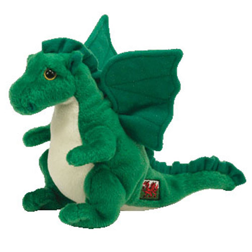 TY Beanie Baby - DEWI Y DDRAIG the Green Dragon (5 inch) (Mint)   Sell2BBNovelties.com  Sell TY Beanie Babies f1b1469836b
