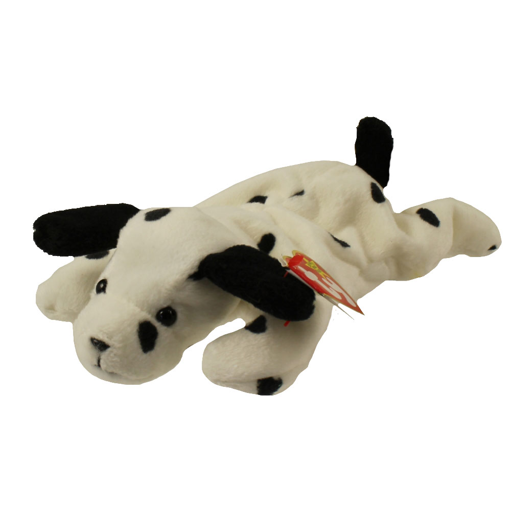 Ty Beanie Baby Dotty The Dalmatian Dog 8 5 Inch Mint