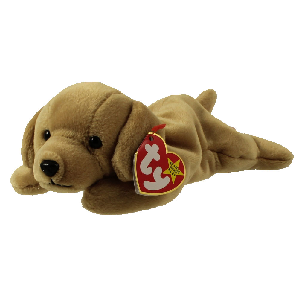 Ty Beanie Baby Fetch The Dog 8 5 Inch Mint