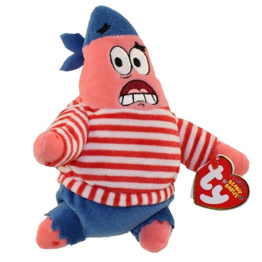 TY Beanie Baby - PATRICK STAR ( FIRST MATE ) (6.5 inch) (Mint)   Sell2BBNovelties.com  Sell TY Beanie Babies 26aa2dc1d2e