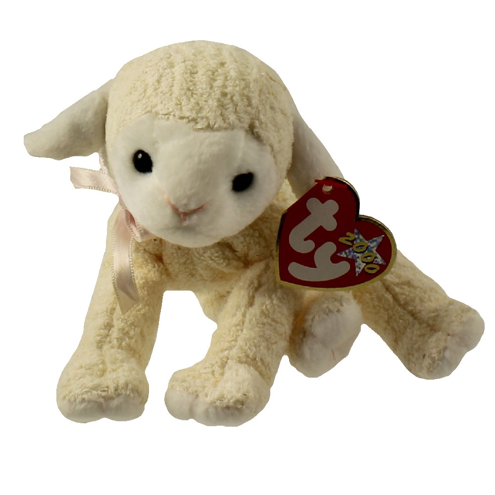 Ty Beanie Baby Fleecie The Lamb 6 Inch Mint