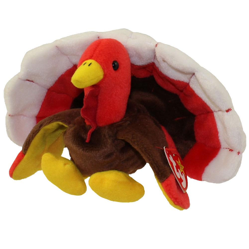 Ty Beanie Baby Gobbles The Turkey 5 5 Inch Mint