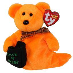 e2b34e109a7 TY Beanie Baby - HAUNTED the Orange Ghost Bear (6 inch) ...