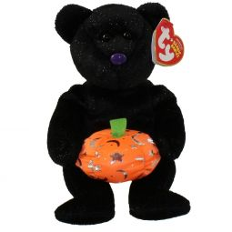6d039eeb602 TY Beanie Baby - HAUNTING the Halloween Bear (Mint)