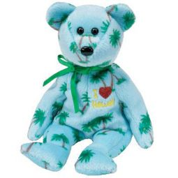 8631bb387f1 TY Beanie Baby - HAWAII the Bear (I Love Hawaii) (8.5 inch)