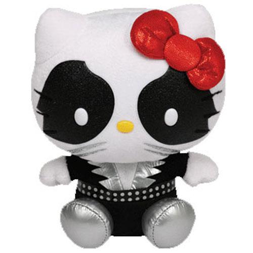 TY Beanie Baby - HELLO KITTY (KISS Catman) (6 inch) (Mint)   Sell2BBNovelties.com  Sell TY Beanie Babies 6781545104fa