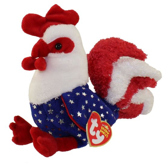 TY Beanie Baby - HOMELAND the Rooster (6 inch) (Mint)   Sell2BBNovelties.com  Sell TY Beanie Babies 179e0dfbd57