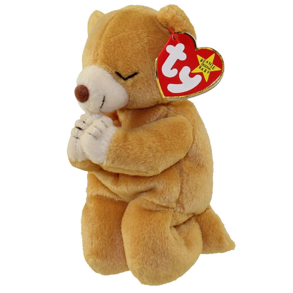 Ty Beanie Baby Hope The Praying Bear 7 Inch Mint