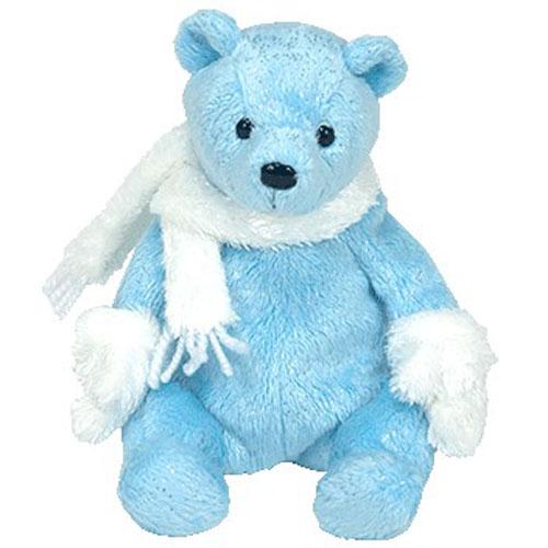 Ty Beanie Baby Icecubes The Bear 7 5 Inch Mint