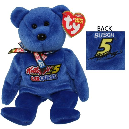 TY Beanie Baby - KYLE BUSCH  5 the Nascar Bear (8.5 inch) (Mint)   Sell2BBNovelties.com  Sell TY Beanie Babies 2a9ef16c035
